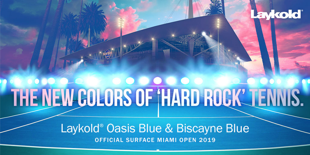Laykold: The New Colors of Hard Rock Tennis